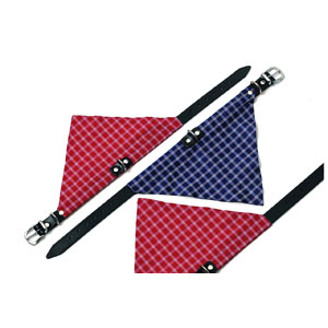Kolibri Collar with Scarf (42cm x 16mm) Red