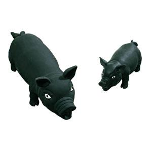 Latex Pig Peky Black