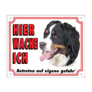 GRATIS Hunde Warnschild, Berner Sennenhund
