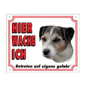 GRATIS Hunde Warnschild, Jack Russell Terrier A