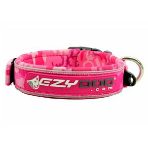 Ezydog - Neoprene Dog Collar Pinkcamo