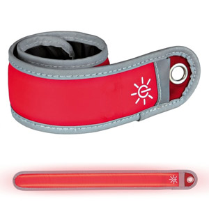 Safer Life Flash Snap Band For Dog Walkers