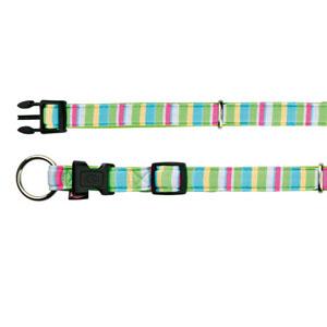 Impression Collar Stripes Lime Green (35-55 cm)