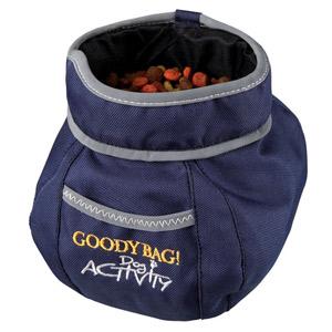 Dog Activity Goody Bag Snack Bag - Blue