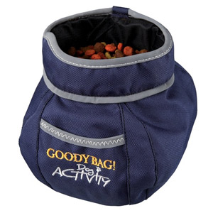 Dog Activity Goody Bag Snack Bag - Blue