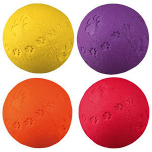 Natural Rubber Toy Ball - 6 cm