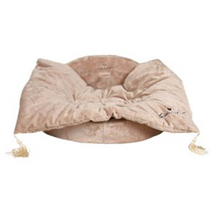 Hundekönig Bett beige