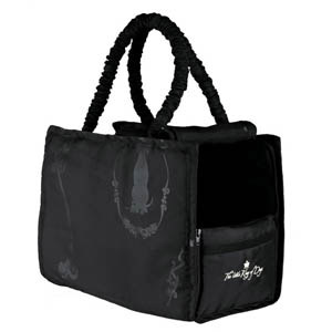 Hundekönig Tasche schwarz