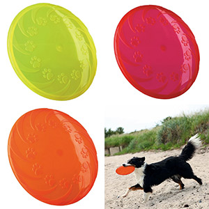 Dog Disc Floatable TPR - 22cm